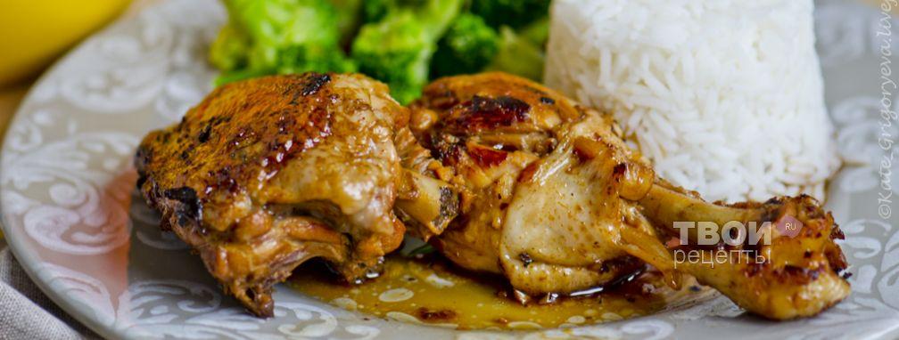 Адобо из курицы - Рецепт