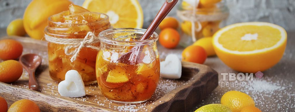 Апельсиновый джем - Рецепт