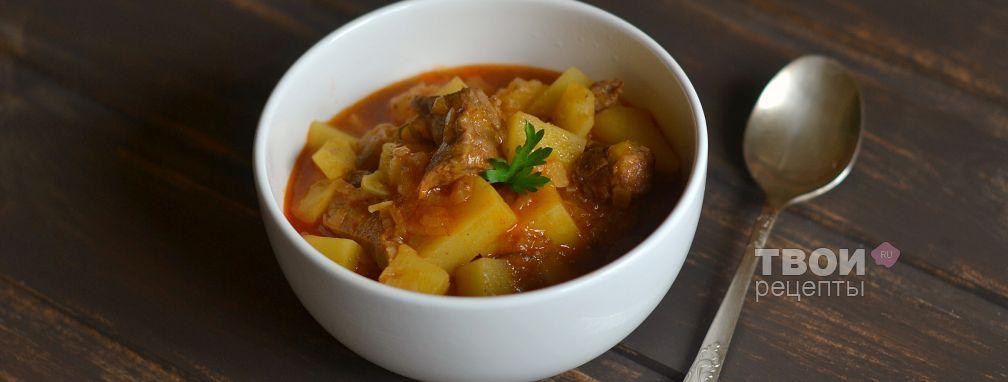 Азу по-татарски - Рецепт