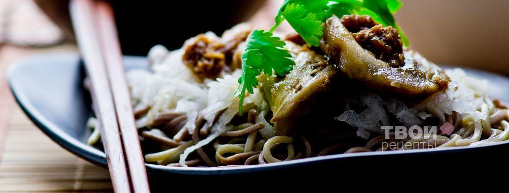 Гречневая лапша с овощами - Рецепт