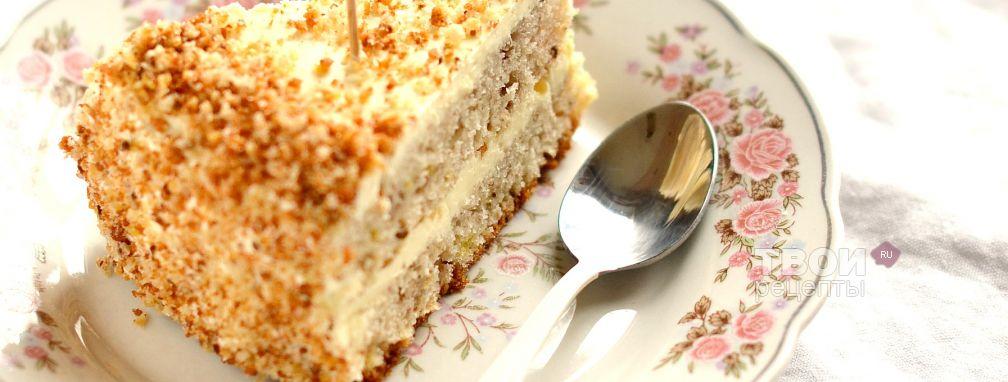 Банановый торт - Рецепт