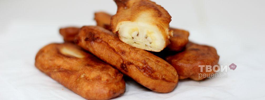 Бананы в кляре - Рецепт