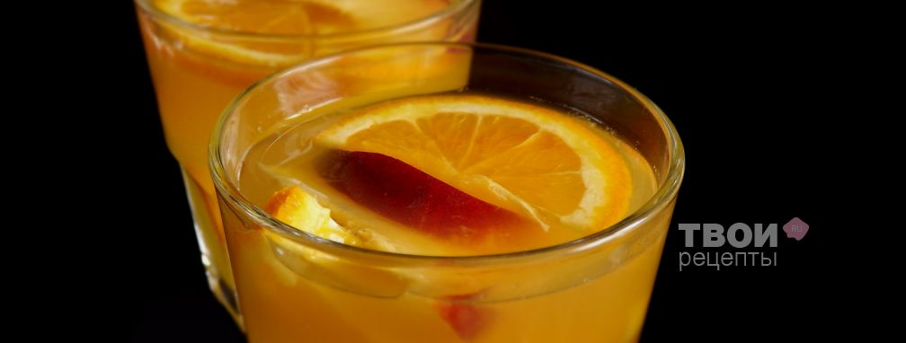 Безалкогольный пунш - Рецепт