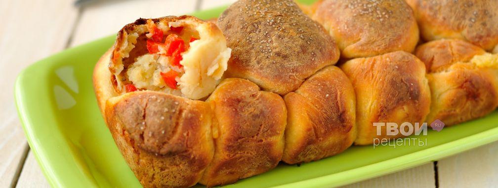 Бездрожжевые булочки с картофельной начинкой - Рецепт