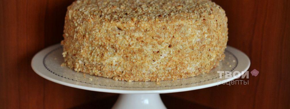 Бисквитный торт - Рецепт