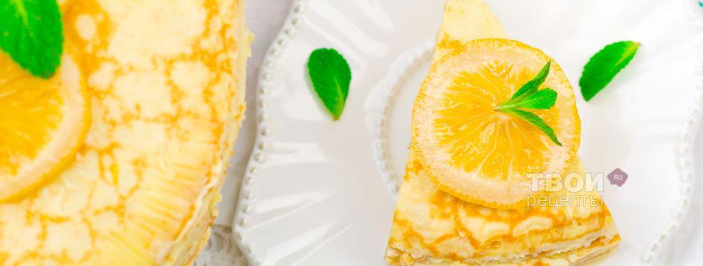 Блинный торт - Рецепт
