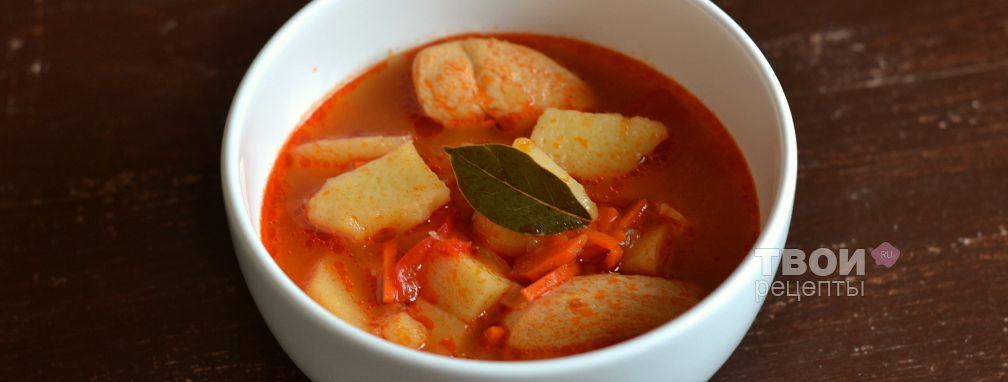 Борщ без капусты - Рецепт