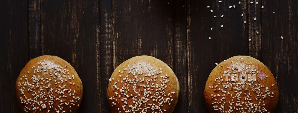Булочки для гамбургеров - Рецепт