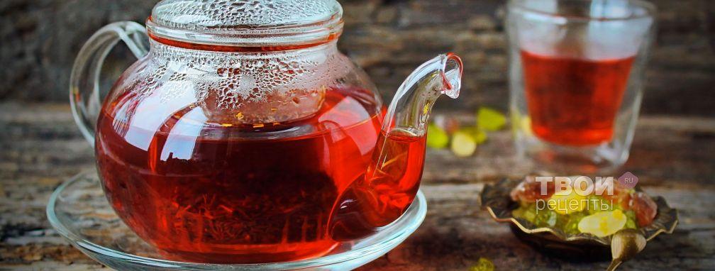 Чай ройбуш - Рецепт