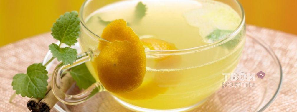 Чай с апельсином и корицей - Рецепт