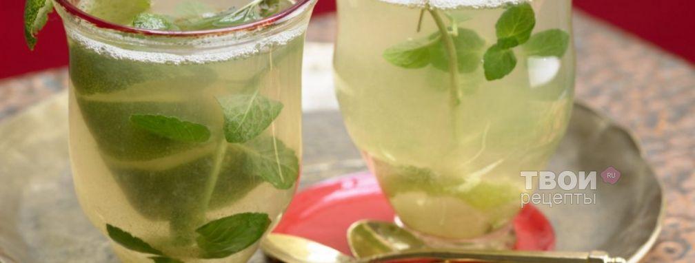 Чай с мятой - Рецепт