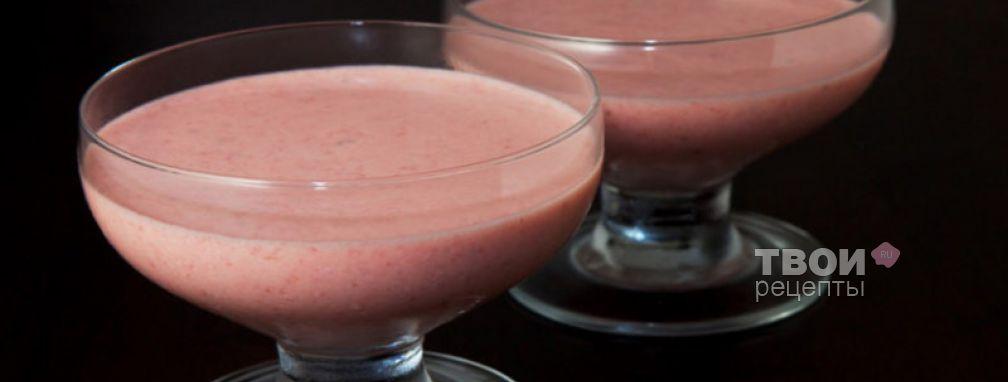 Десерт клубничный - Рецепт