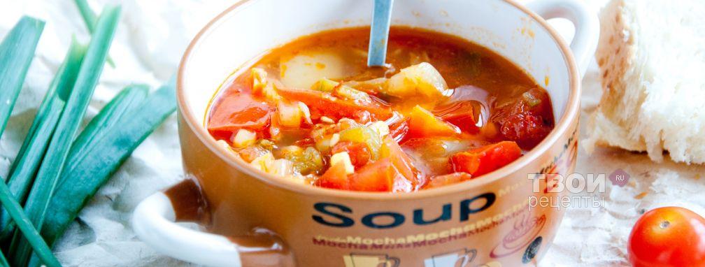Овощной диетический суп - Рецепт