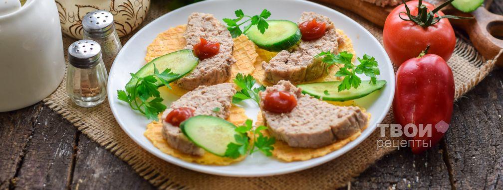 Домашняя докторская колбаса - Рецепт