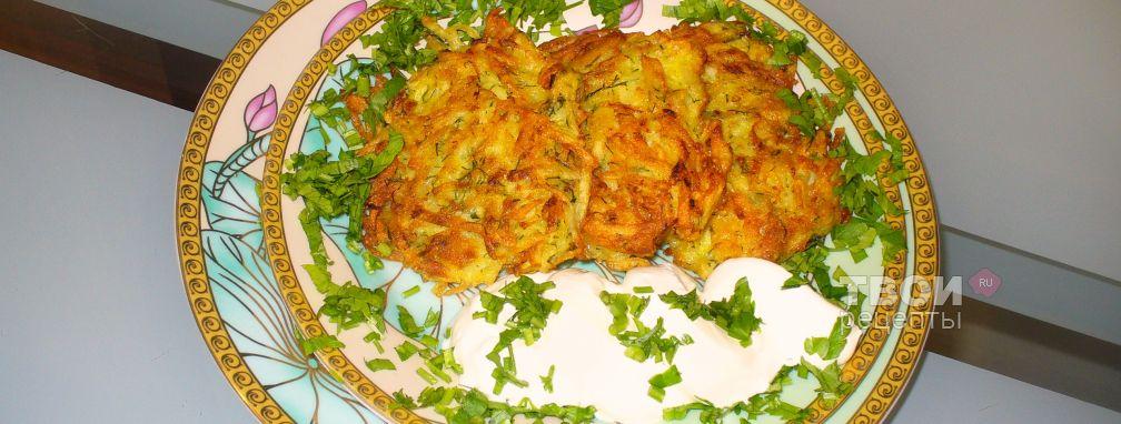 Драники картофельные - Рецепт