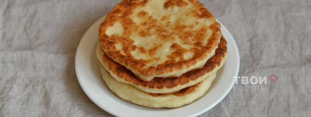 Дрожжевые картофельные лепешки - Рецепт