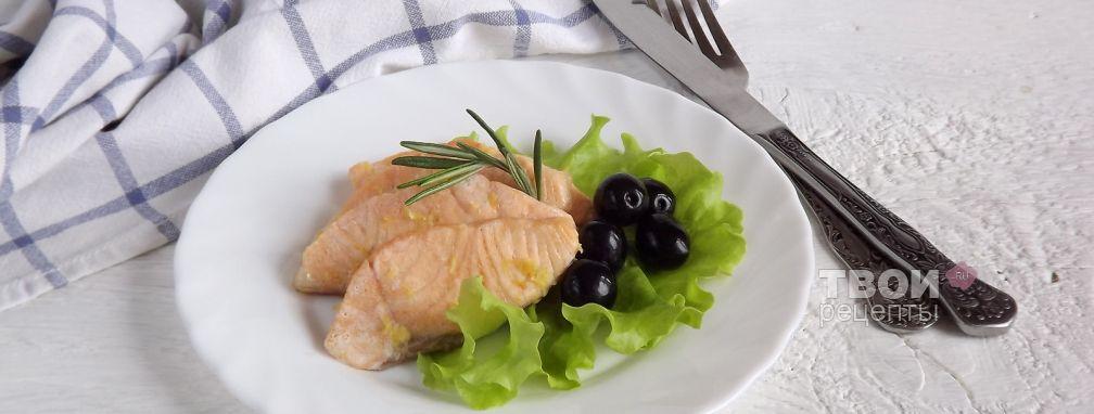 Филе лосося на пару - Рецепт