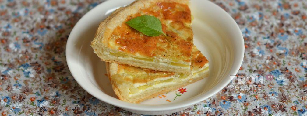 Флан из кабачков - Рецепт