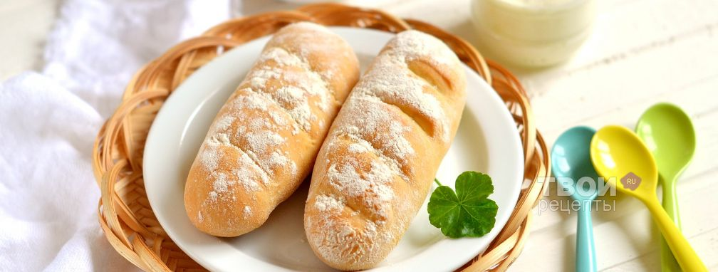 Французские булочки - Рецепт