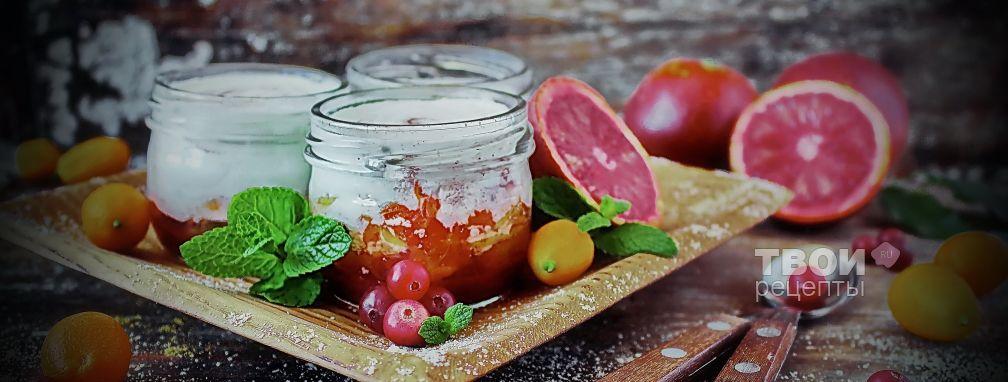 Фруктовый йогурт - Рецепт