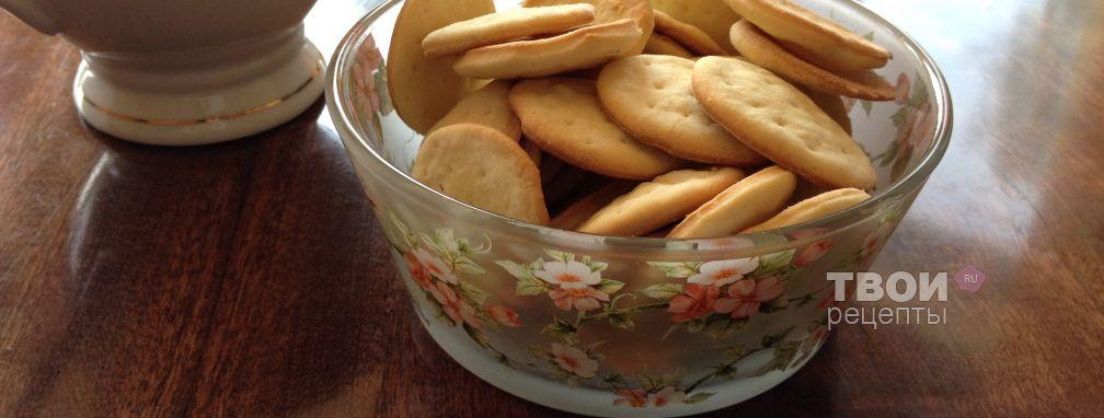 Галетное печенье - Рецепт
