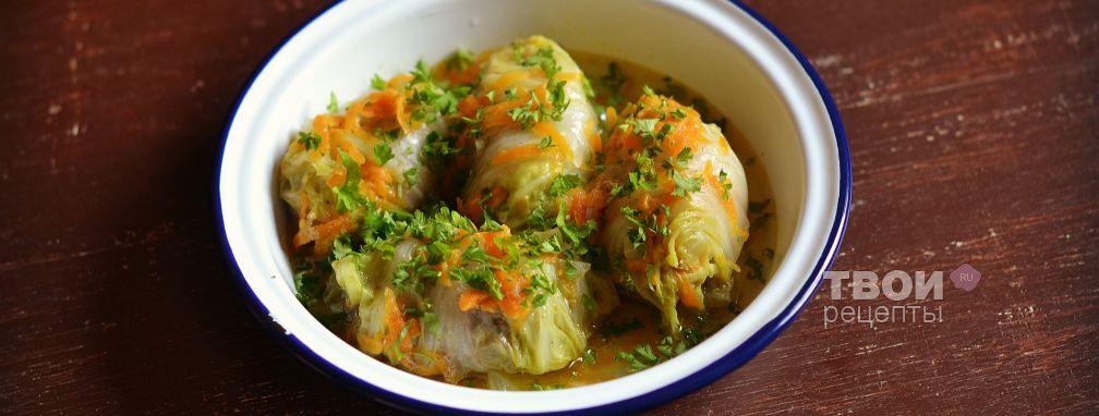 Голубцы из пекинской капусты - Рецепт