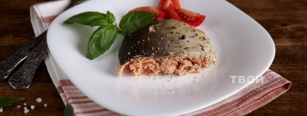 Горбуша, запеченная (в рукаве) - Рецепт