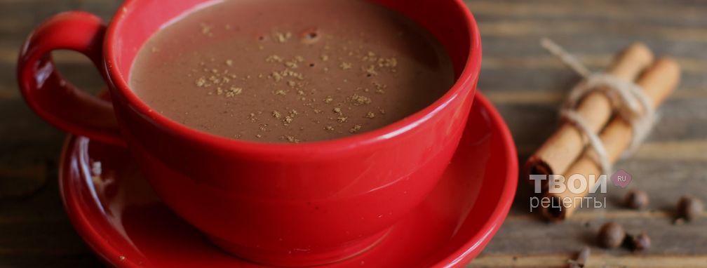 Горячий шоколад со специями - Рецепт