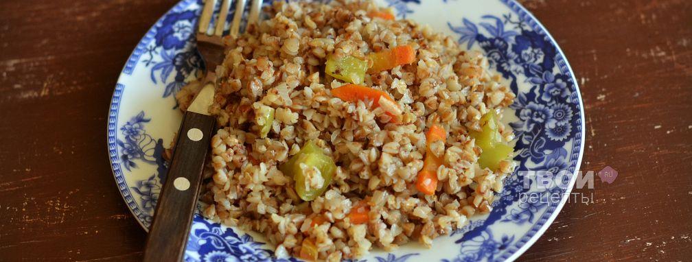Гречка с овощами - Рецепт
