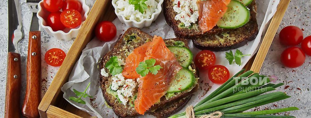 Гренки из бородинского хлеба - Рецепт