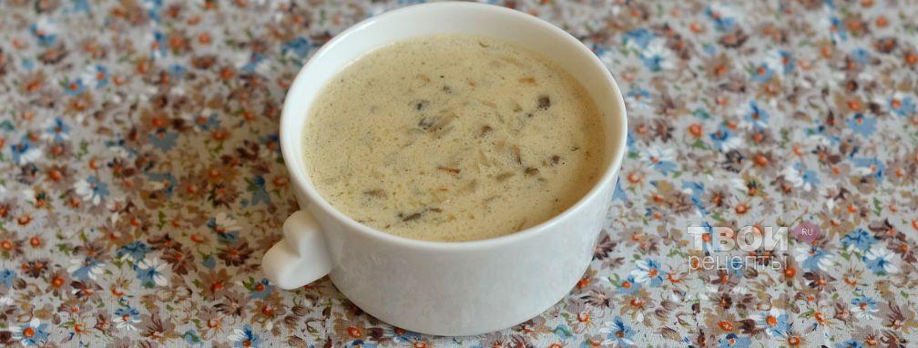 Грибной соус - Рецепт