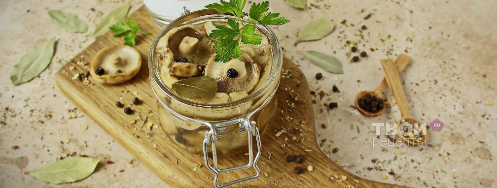 Грузди соленые - Рецепт