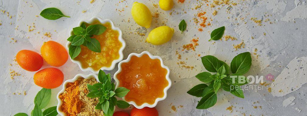 Имбирный соус - Рецепт