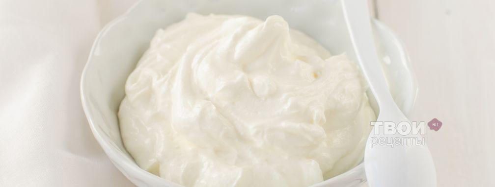 Йогурт греческий - Рецепт