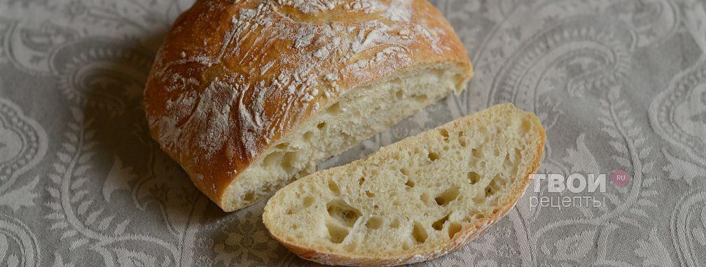 Итальянский хлеб - Рецепт
