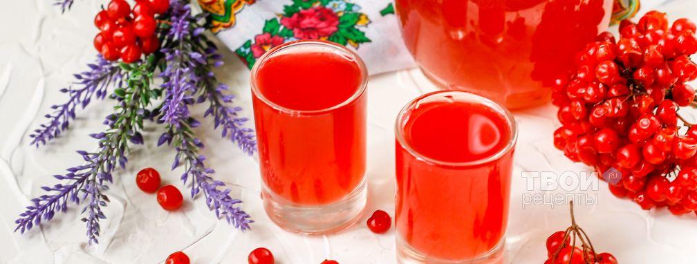 Калина на водке - Рецепт