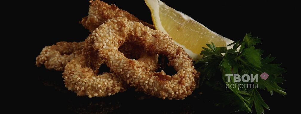 Кальмары, жареные в тесте - Рецепт