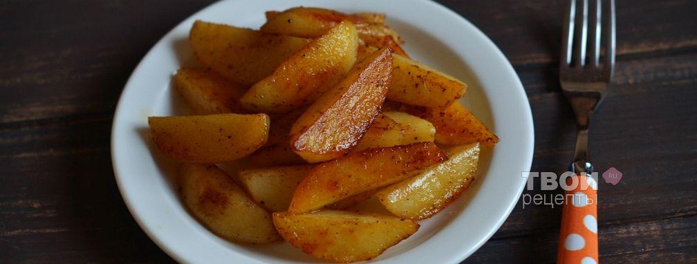 Картофель запеченный в мультиварке - Рецепт