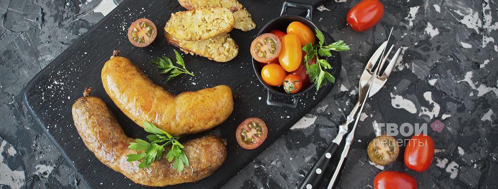 Картофельная колбаса - Рецепт