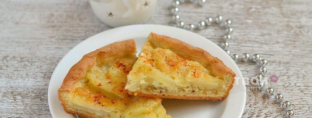 Картофельно-луковый пирог - Рецепт