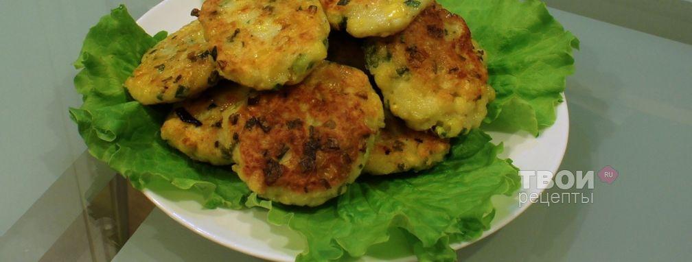Картофельные котлеты с кукурузой и луком - Рецепт