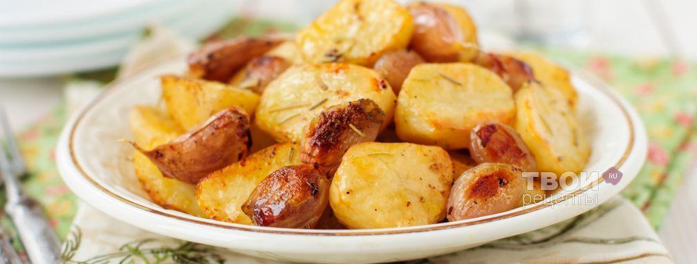 Картошка с луком - Рецепт