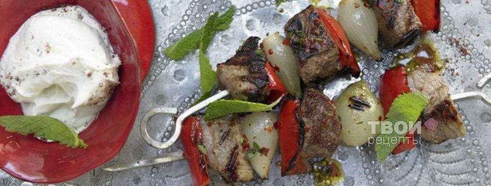 Кебаб на шампурах - Рецепт