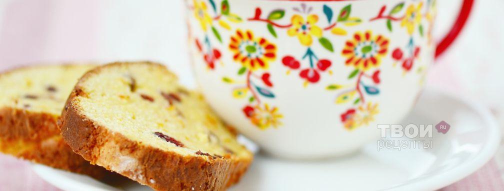 Кекс с начинкой - Рецепт