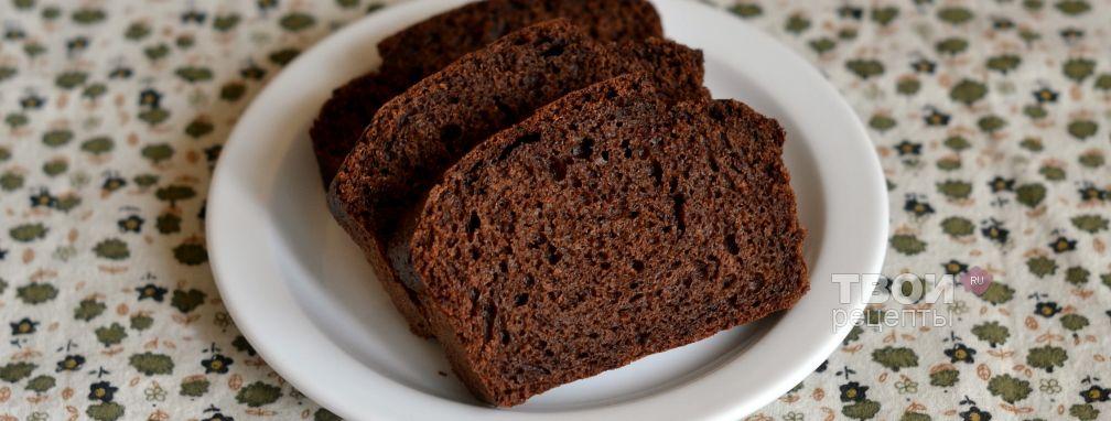 Кекс с какао - Рецепт