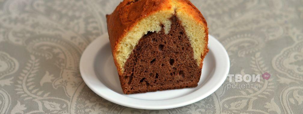 Кекс с шоколадно-ореховой пастой - Рецепт