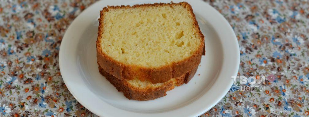 Кекс с творожным сыром - Рецепт