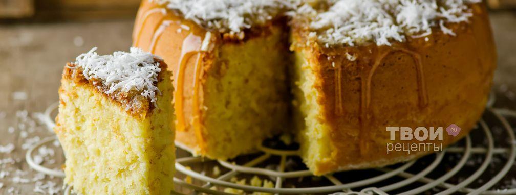 Кекс в мультиварке - Рецепт