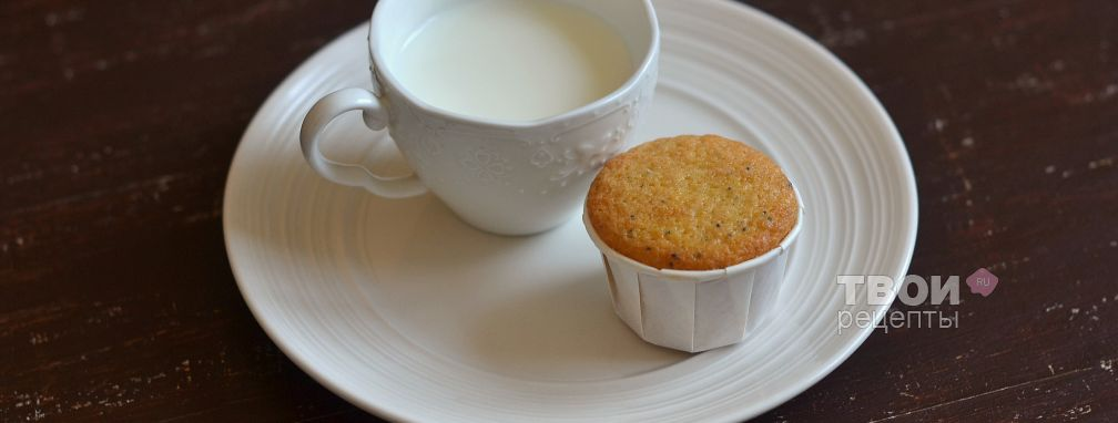 Кексы с маком - Рецепт