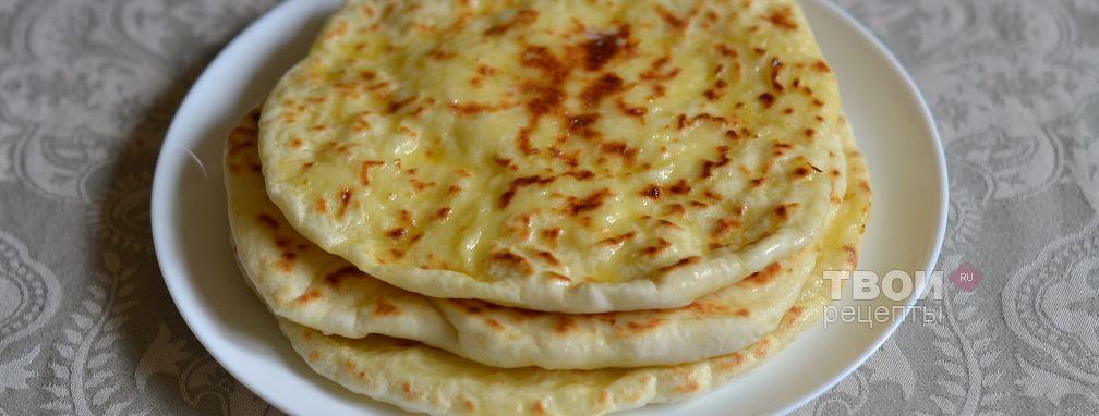 Хачапури на сковороде - Рецепт